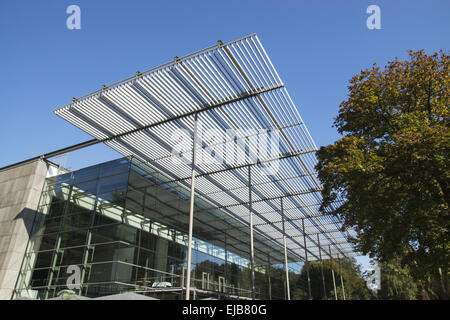 Ruhr festival hall in Recklinghausen, Germany - Stock Photo