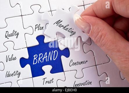 Brand - Marketing Concept - Stock Photo