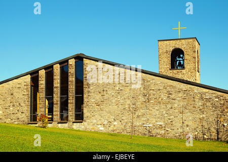 Church of Holy Spirit Oberjoch Germany - Stock Photo