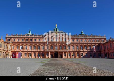 Residenz Castle Rastatt - Stock Photo
