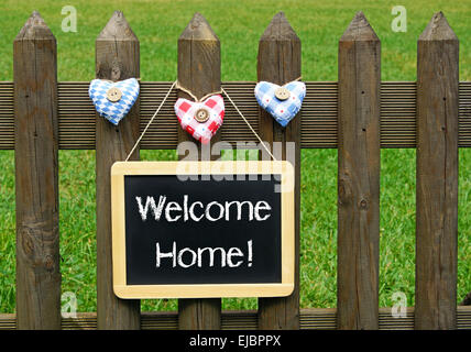 Welcome Home ! - Stock Photo