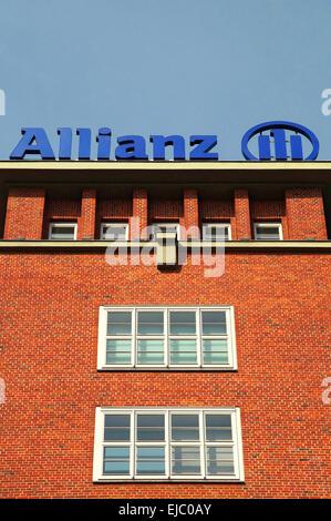 Logo Allianz - Stock Photo