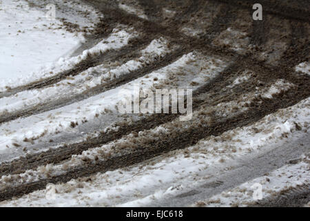 Be Careful, Slippery! - Stock Photo