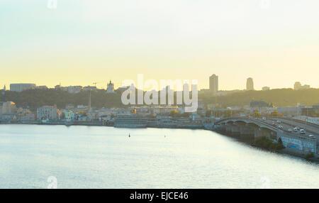 Kiev panorama - Stock Photo