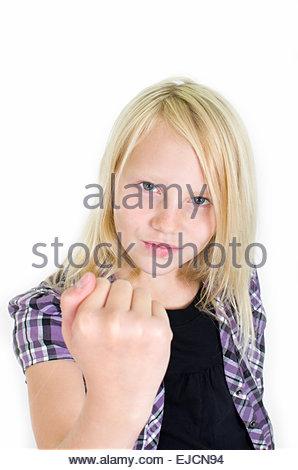 delinquent adolescents - Stock Photo