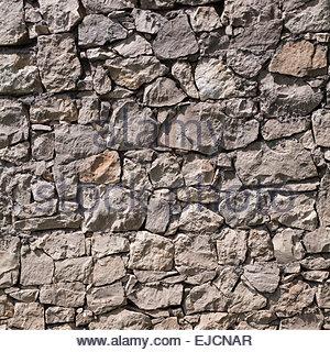 Real stone wall texture - Stock Photo