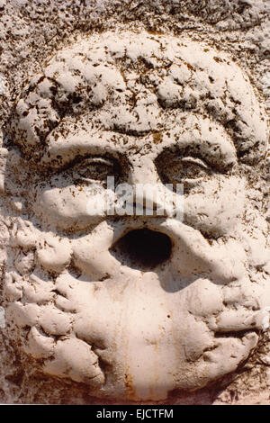 Fountain Pompeii - Stock Photo