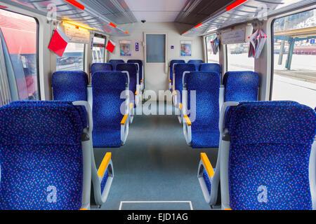 Interior of train - Stock Photo