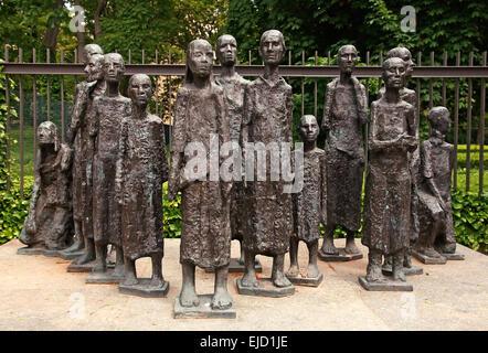Jewish Graveyard Berlin Germany - Stock Photo