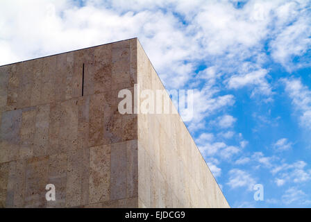 Munich Jewish community Jakob synagogue exterior view built Bavaria Europe Germany - Stock Photo