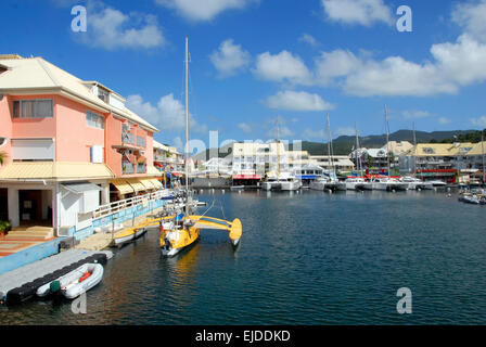 St martin marigot marina stock photo royalty free image - Marina port la royale marigot st martin ...