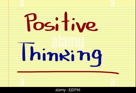 Positive Thinking Concept - Stock Photo
