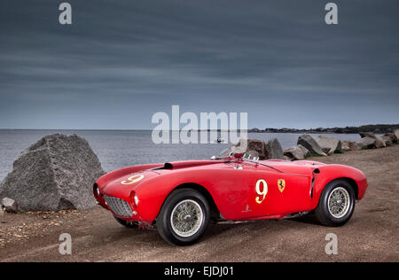 1953 Ferrari 375 MM Pinin Farina Spider sports racing car - Stock Photo