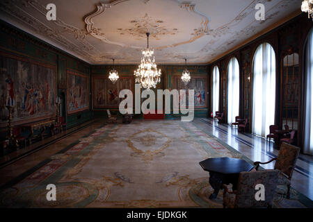 Villa Huegel, Gartensaal,  Essen, Nordrhine Westphalia, Germany, Europe - Stock Photo