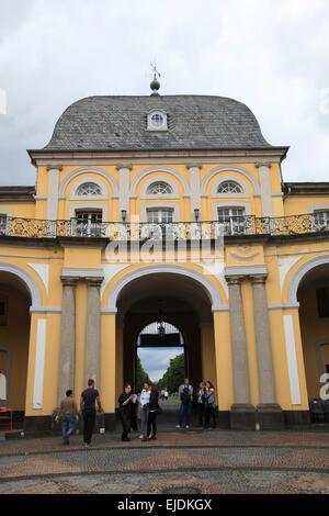 Bonn, Poppelsdorf Castle,  Northrhine Westphalia, Germany, Europe - Stock Photo