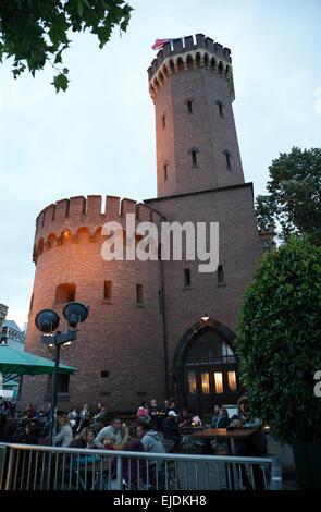 Cologne, Malakoff-Tower, Northrhine Westphalia, Germany, Europe - Stock Photo