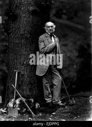 William Ewart Gladstone, former Prime Minister of United Kingdom - Stock Photo