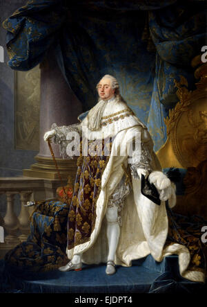 Louis XVI, Louis Capet, was King of France from 1774 until 1792 - Stock Photo