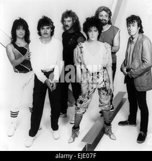 JEFFERSON STARSHIP Promotional photo of US group about 1990. See - Stock Photo