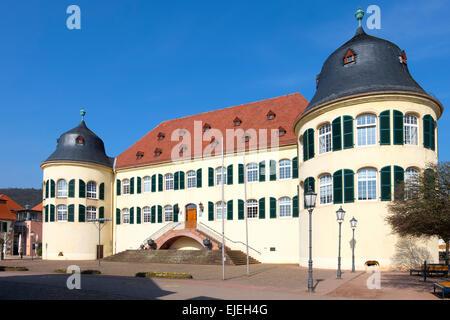 Castle Bergzabern, Bad Bergzabern, Deutsche Weinstraße, Southern Wine Route, Southern Palatinate, Palatinate - Stock Photo