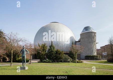 Zeiss Major Planetarium, Prenzlauer Berg, Berlin, Germany - Stock Photo
