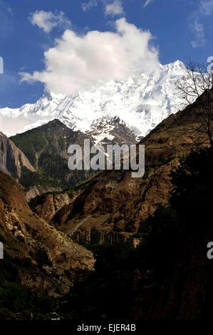 Gilgit-Baltistan, Hunza River, Pakistan, 2010. - Stock Photo