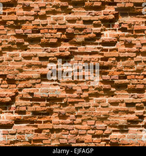 Old brick wall background. Seamless. - Stock Photo