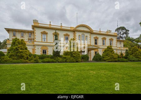 Auckland University, Old Government House, Auckland, New Zealand Stock Photo
