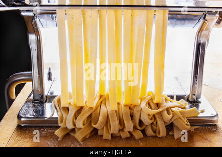 homemade pasta - Stock Photo