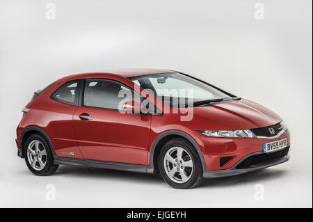 2009 Honda Civic type S - Stock Photo