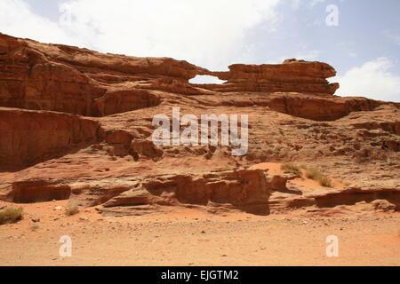 Wadi Rum, Desert, Jordan. - Stock Photo