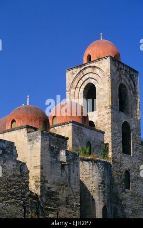 Italy, Sicily, Palermo, San Giovanni degli Eremiti church // Italie. Sicile, Palerme, église San Giovanni degli - Stock Photo