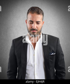 Businessman discouraged - Stock Photo