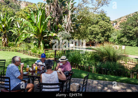 Johannesburg South Africa African Roodepoort Walter Sisulu National Botanical Garden Witwatersrand man woman couple - Stock Photo