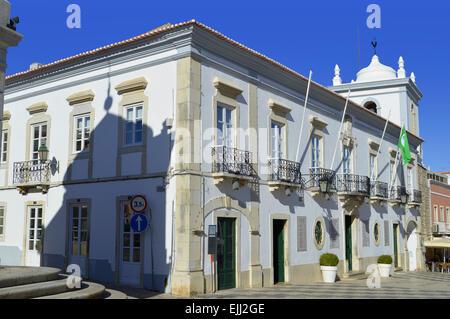 Querenca building in the Serra de Monchique mountain range of the Algarve, Portugal - Stock Photo