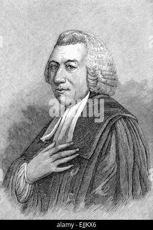 Hugh Blair (1718 - 1800) Scottish minister of religion, author and rhetorician, - Stock Photo