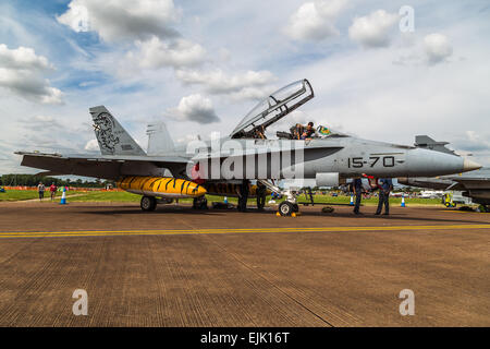 EF-18M Spanish Hornet. - Stock Photo