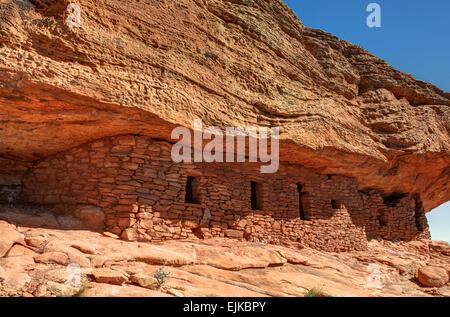 The Citadel Anasazi Ruin on Cedar Mesa in Southeastern Utah. - Stock Photo