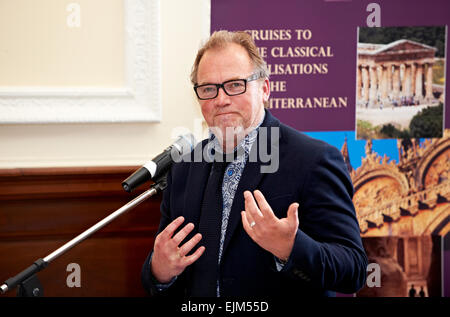 Alastair Hignell at the Oldie Literary Lunch 17/04/12 - Stock Photo