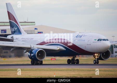 Arik Air, Nigeria Airbus A330 - Stock Photo