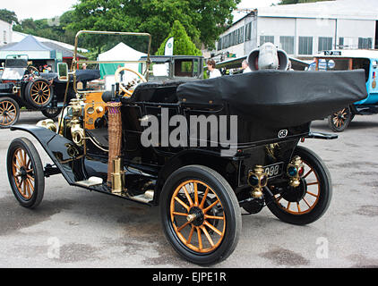 1911 Model T Ford at Brooklands Double Twelve Motorsport Festival 2014, Weybridge, Surrey - Stock Photo