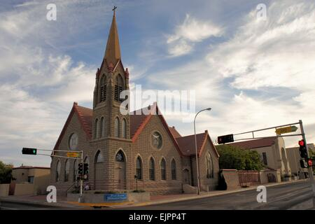 Methodist church in Albuquerque, New Mexico - Stock Photo