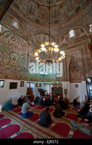 Et'hem Bey Mosque, Tirana, Albania - Stock Photo
