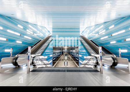 subway station hafencity hamburg germany stock photo royalty free image 56862784 alamy. Black Bedroom Furniture Sets. Home Design Ideas