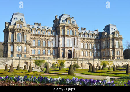 Bowes Museum at Barnard Castle in County Durham, UK - Stock Photo
