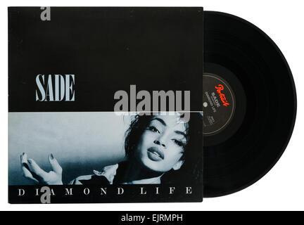 Sade Diamond Life album - Stock Photo