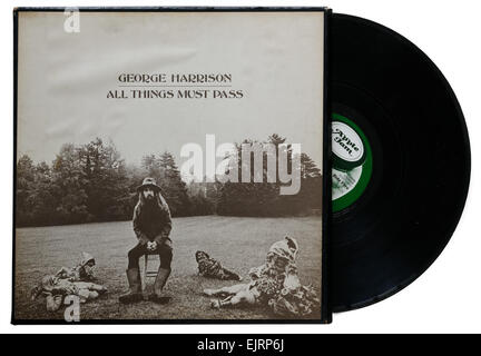 George Harrison album All Things Must Pass - Stock Photo