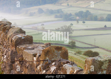 Stone Fence, Burnsall, Yorkshire Dales National Park, United Kingdom