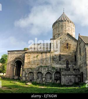 Scenic old monastery in Tatev, Armenia - Stock Photo