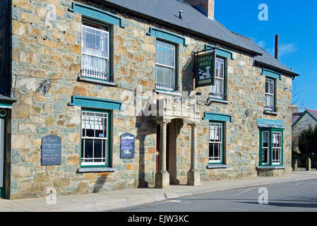 The Castle Inn in Newport, Pembrokeshire, Wales UK - Stock Photo